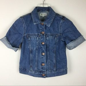 Madewell Summer Jean Jacket size S